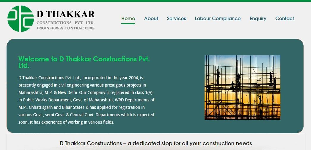 D Thakkar Constructions